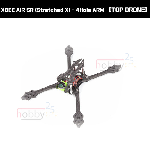 [Top Drone] XBEE AIR SR (Stretched X) - 4Hole ARM [AIR-SR]