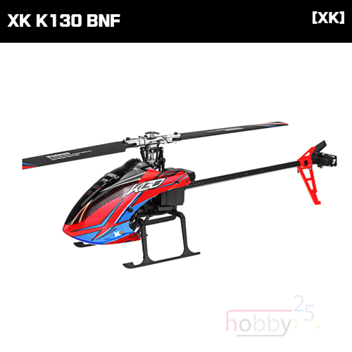 [XK] K130 6CH FLYBARLESS HELICOPTER (BNF) [K130-B](* 전파인증 완료*)