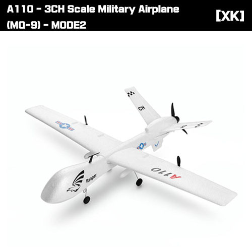 A110 - 3CH Scale Military Airplane (MQ-9) - MODE1