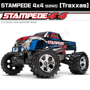 [Traxxas] 스템피드 4륜 브러쉬드 1/10 STAMPEDE 4x4 Brushed