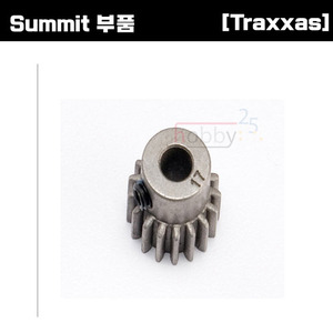[Summit 부품] AX5643 Gear 17-T pinion (0.8 metric pitch compatible with 32-pitch) (fits 5mm shaft)/ set screw