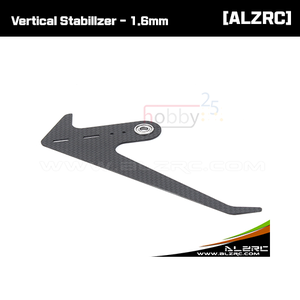 [ALZRC] Devil 380 FAST Carbon Fiber Vertical Stabilizer - 1.6mm [D380f36]