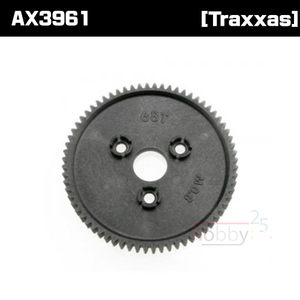 AX3961 Spur gear 68-tooth (0.8 metric pitch)