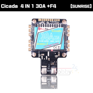 [SUNRISE Model] CICADA BLHELI_S 4 IN 1 30A +F4