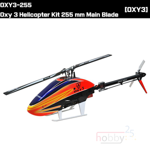 [OXY3] OXY3-255 - Oxy 3 Helicopter Kit 255 mm Main Blade