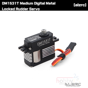 [ALZRC] DM1531T Medium Digital Metal Locked Rudder Servo [DM1531T]