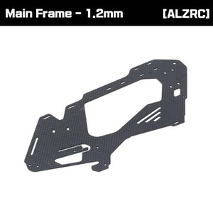 [ALZRC] Carbon Fiber Main Frame - 1.2mm [D380F21-12]