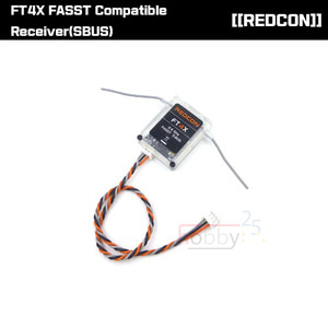 [REDCON] FT4X FASST Compatible Receiver(SBUS) [REDCON_FASST]
