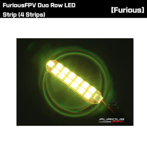 [FuriousFPV] Duo Row LED Strip (4 Strips) [FPV-LED2R]