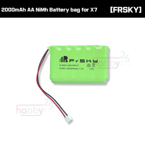 [FRSKY] TARANIS 2000mAh AA NiMh Battery bag for X7 (7.2V, 6 cells) [01180206]
