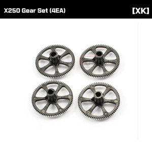 [XK] X250 Gear Set (4EA) [X250-006]