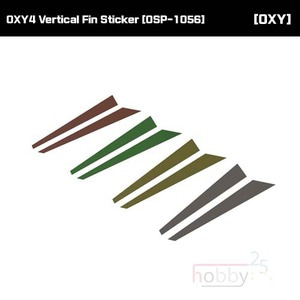 OXY4 Vertical Fin Sticker [OSP-1056]