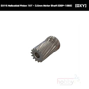 OXY4 Helicoidal Pinion 15T - 3.5mm Motor Shaft [OSP-1066]