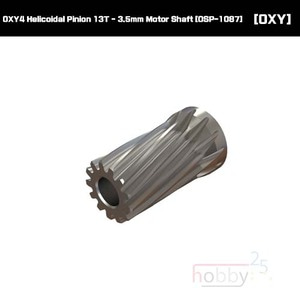 OXY4 Helicoidal Pinion 13T - 3.5mm Motor Shaft [OSP-1087]