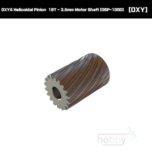 OXY4 Helicoidal Pinion  18T - 3.5mm Motor Shaft [OSP-1090]