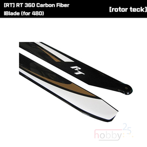 [RT] RT 360 Carbon Fiber lBlade (for 480) [RT360BL]