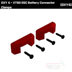 OXY 4 XT60 ESC Battery Connector Clamps [OSP-1095]