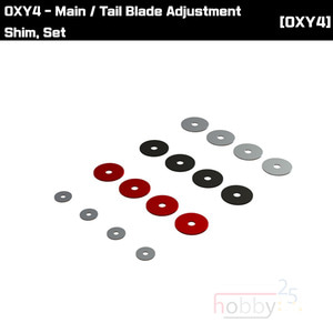 OXY4 Main / Tail Blade Adjustment Shim, Set [OSP-1102]