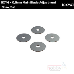 OXY4 0.5mm Main Blade Adjustment Shim, Set [OSP-1113]