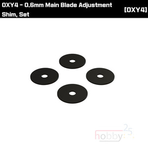 OXY4 0.6mm Main Blade Adjustment Shim, Set [OSP-1114]