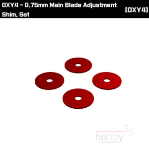 OXY4 0.75mm Main Blade Adjustment Shim, Set [OSP-1115]
