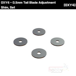 OXY4 0.5mm Tail Blade Adjustment Shim, Set [OSP-1116]