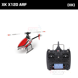 [XK] K120 6CH FLYBARLESS HELICOPTER (ARF) [K120] (* 전파인증 완료*)