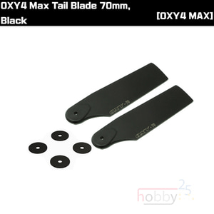 OXY4 Max Tail Blade 70mm, Black [OSP-1237-3]