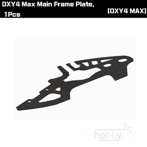OXY4 Max Main Frame Plate, 1Pcs [OSP-1184]