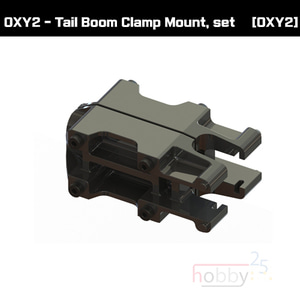 SP-OXY2-070 - OXY2 - Tail Boom Clamp Mount, set