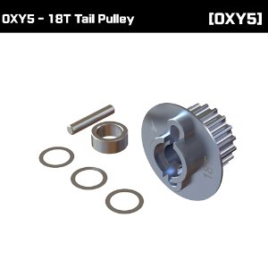 OXY5 - 18T Tail Pulley [OSP-1325]