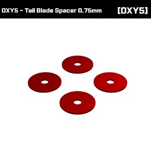 OXY5 - Tail Blade Spacer 0.75mm [OSP-1377]