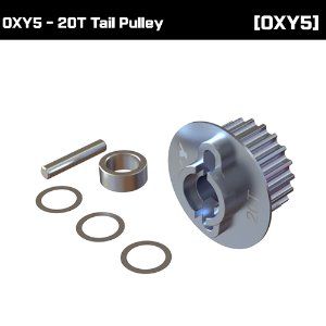 OXY5 - 20T Tail Pulley [OSP-1327]