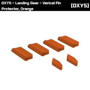 OSP-1391 OXY5 - Landing Gear - Verical Fin Protector, Orange
