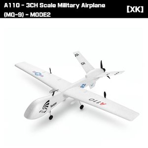 A110 - 3CH Scale Military Airplane (MQ-9) - MODE2