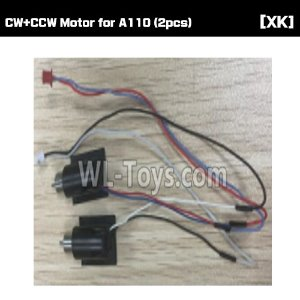 [XK] CW+CCW Motor for A110 (2pcs) [A110-004]