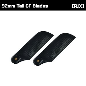 RJX Black and White 92mm Tail CF Blades
