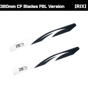 RJXHOBBY 380mm CF Blades FBL Version [RJX380]